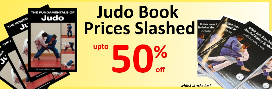 Judo Book Prices Slashed