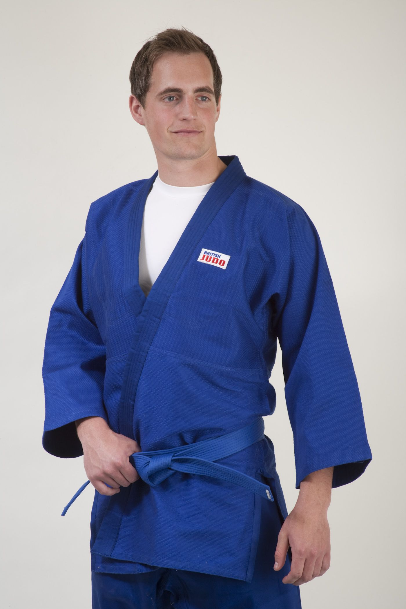 BJA Branded Judo Suit Blue