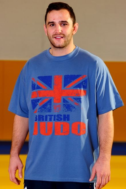 British Judo Can Do It T-Shirt Range Adult Blue