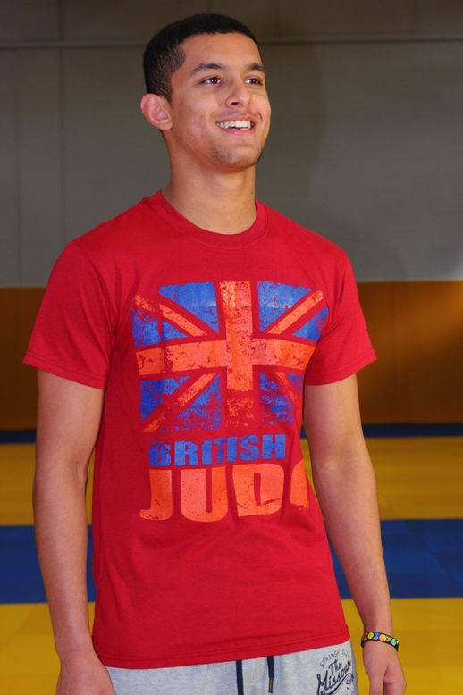 British Judo Can Do It T-Shirt Range Adult Red