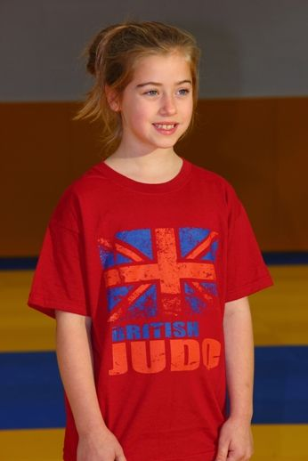 British Judo Can Do It T-Shirt Range Child Red