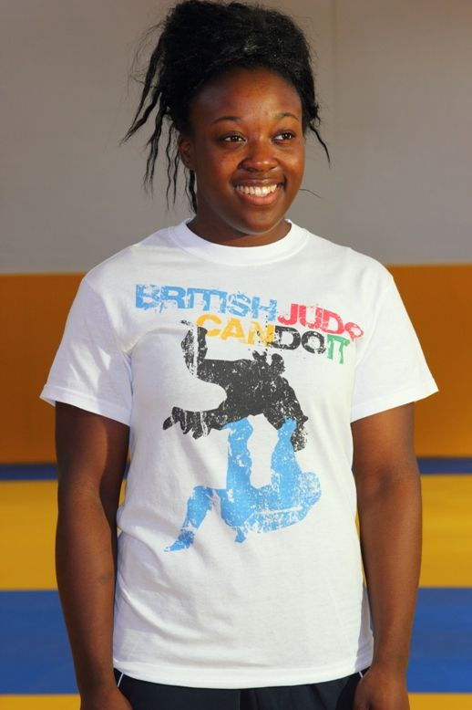 British Judo Can Do It T-shirt Range Adult White