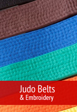 Judo belts & embroidery